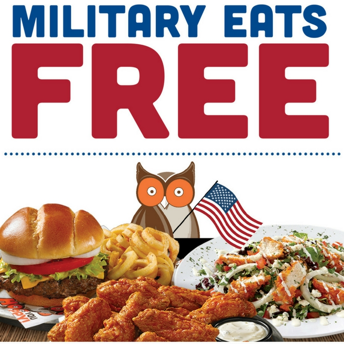 FREE Entree For Active-Duty Military & Veterans!