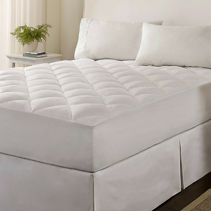 Microfiber Down Alternative Mattress Pad Just $17.99! Down From $70!