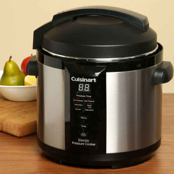 Cuisinart 6-Quart Electric Pressure Cooker Just $59.99! Down From $100! PLUS FREE Shipping!