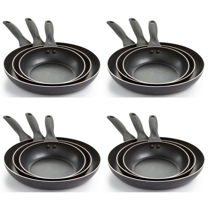 T-Fal 3-Piece Fry Pan Set Just $9.99! Down From $60!