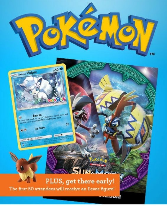 FREE Pokemon Trade & Collect Event At ToysRUs! May 13 Only!