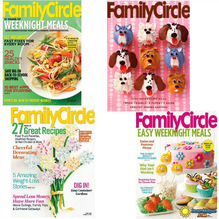 FREE Family Circle Magazine 1 Year Subscription!