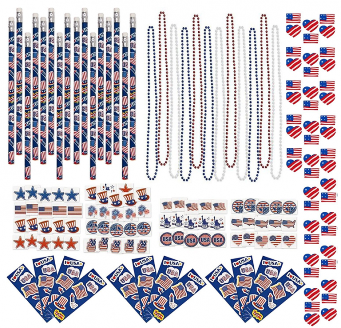 4th Of July Patriotic Decorations Party Pack Only $14.95!