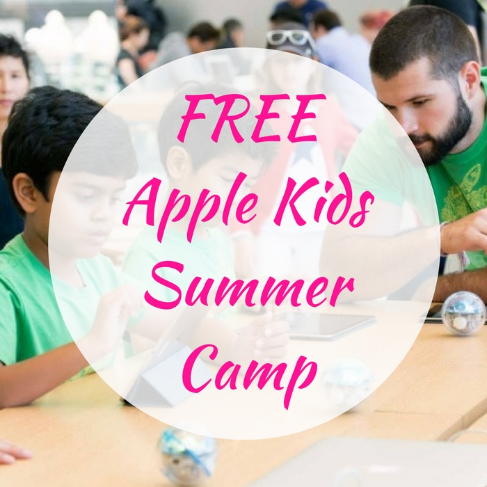 FREE Apple Kids Summer Camp!