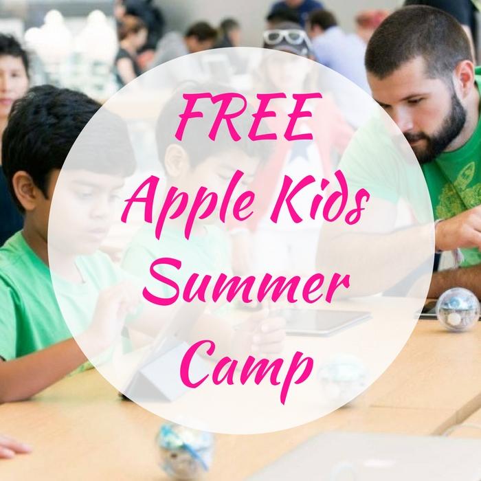 FREE Apple Kids Summer Camp!
