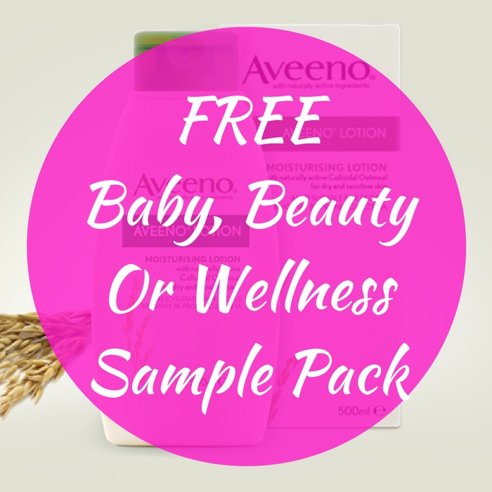 FREE Baby, Beauty Or Wellness Sample Pack!