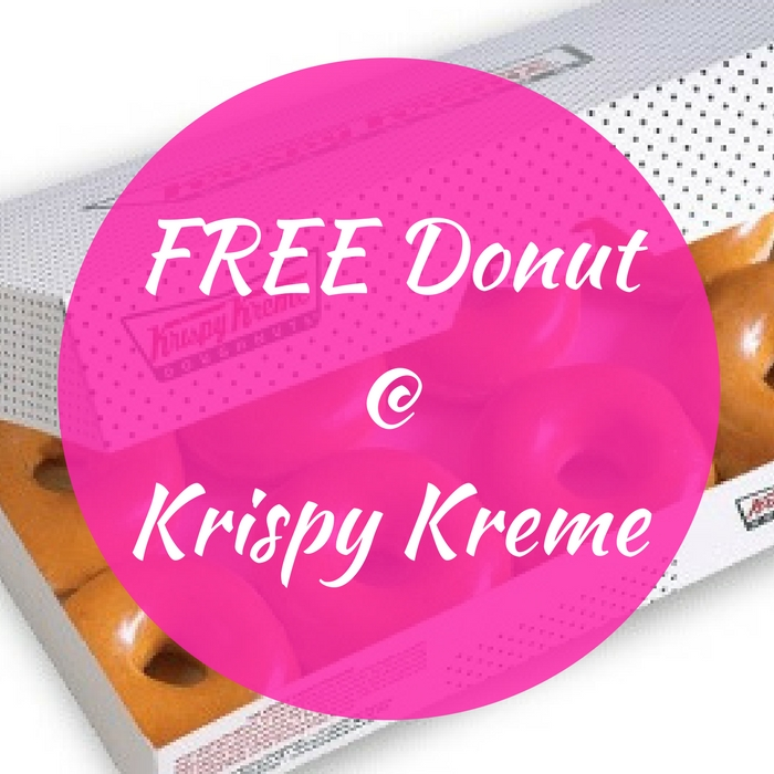THREE FREE Donuts With Purchase At Krispy Kreme!