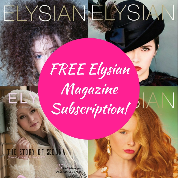 FREE Elysian Magazine Subscription!