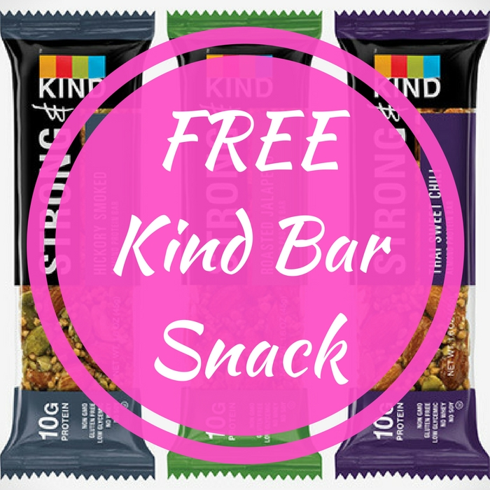 FREE Kind Bar Snack!