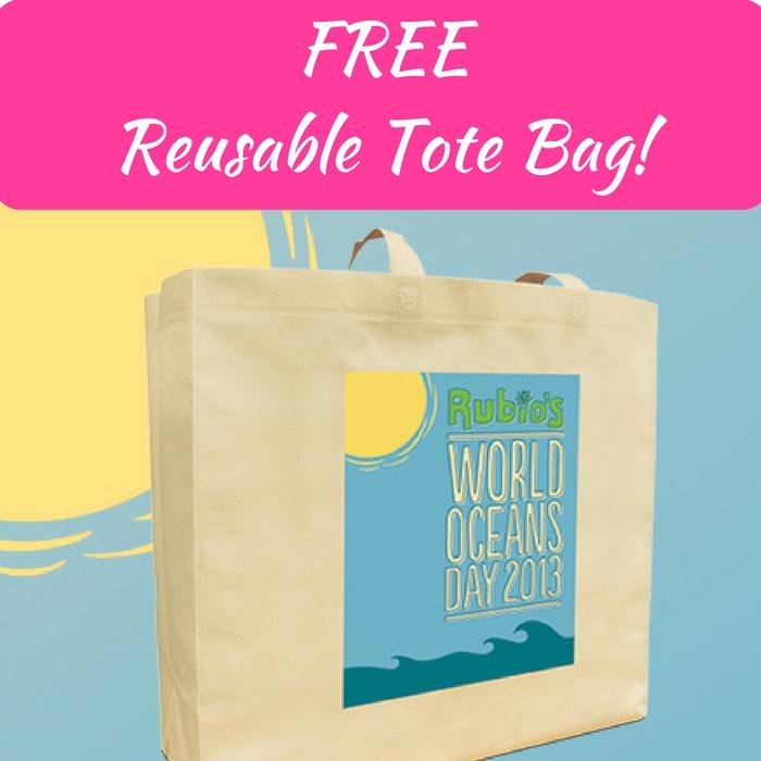 FREE Reusable Tote Bag!