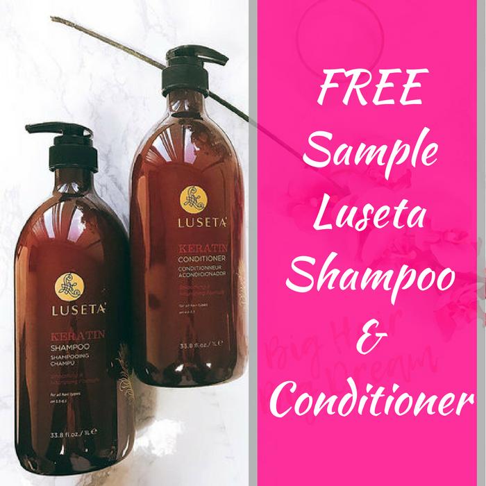FREE Sample Luseta Shampoo & Conditioner!