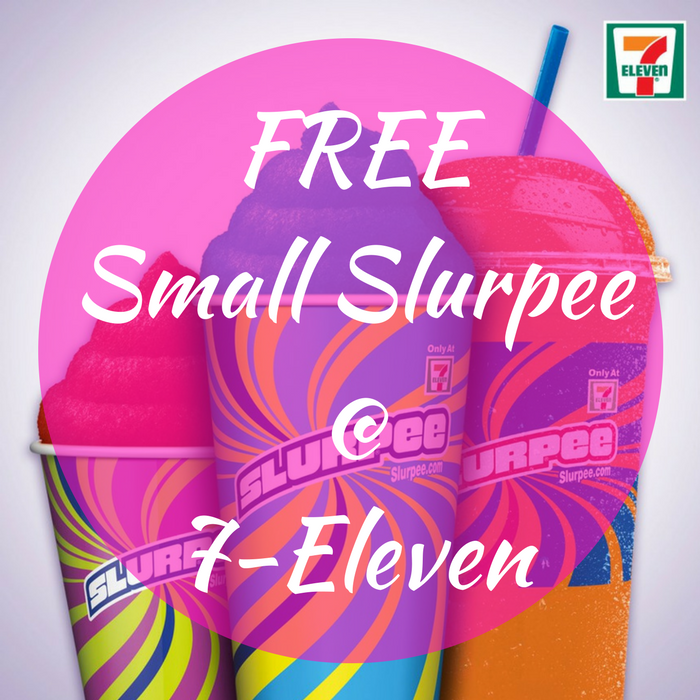 FREE Small Slurpee! TODAY ONLY!