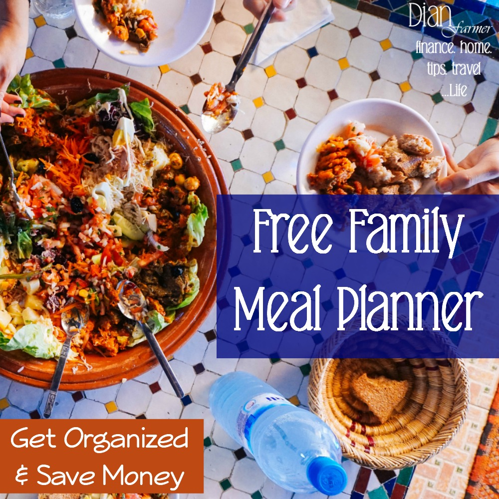 """What's for dinner?"" You can't hear that too many times in your life, can you? Well, this free Monthly Meal Planner will solve that and help you get organized and save money, too!"