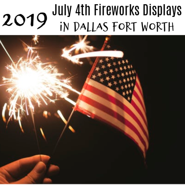 Looking for 4th of July 2019 Fireworks displays? Live in DFW? From parades to lake parties,& ballgames to picnics, all with fireworks, here's your list!