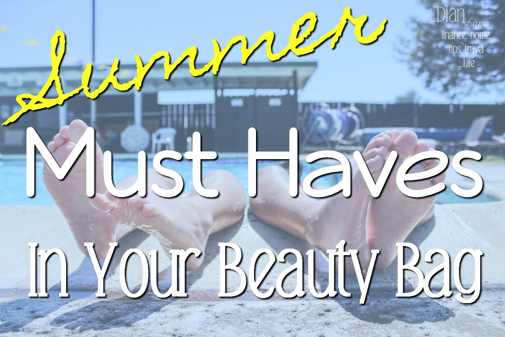 Summer is a harsh time of year for your hair, makeup, & skin.  These items are your MUST HAVES for your summer beauty bag!
