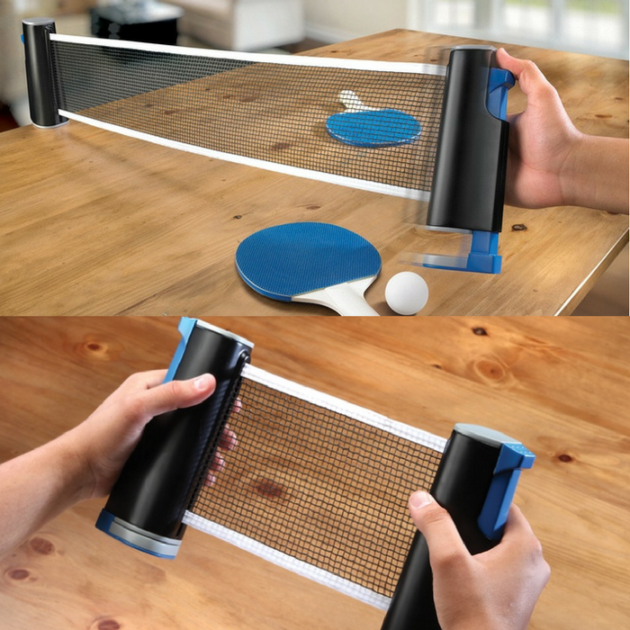 Black Series Portable Ping Pong Table Kit Just $18.99! Down From $50!