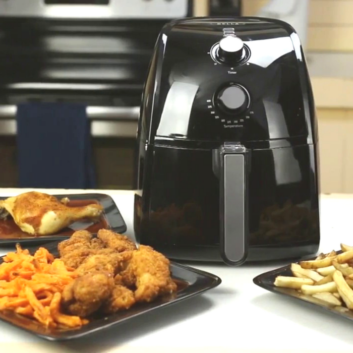 bella electric hot air fryer just down from 80. Black Bedroom Furniture Sets. Home Design Ideas