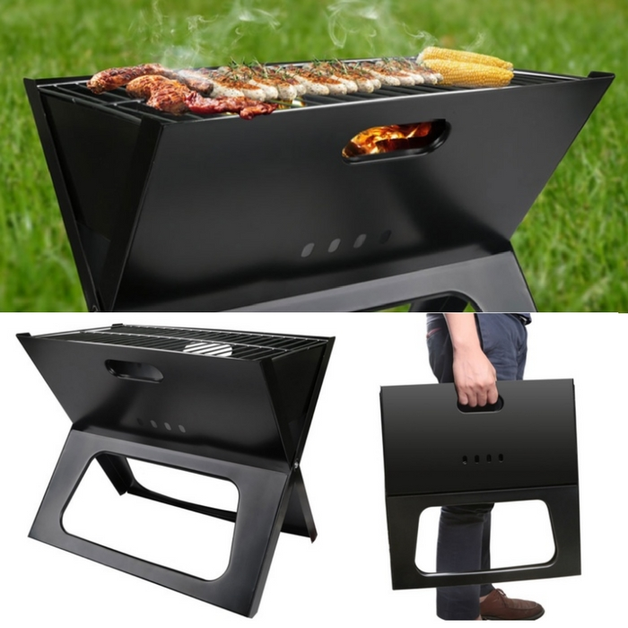 Foldable Portable BBQ Grill Just $21.99! Down From $62!