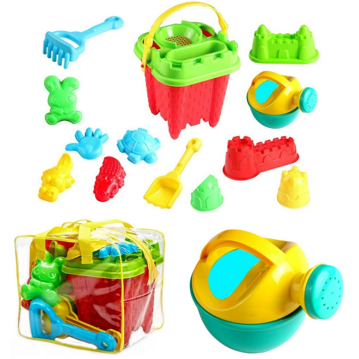 Beach Sand Toys 15-Piece Set Just $13.95! Down From $25!