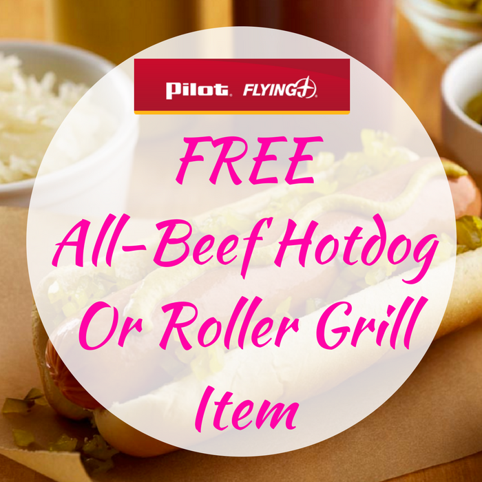 FREE All-Beef Hotdog Or Roller Grill Item!