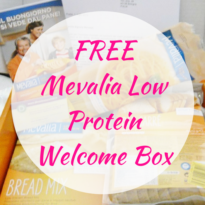 FREE Mevalia Low Protein Welcome Box!