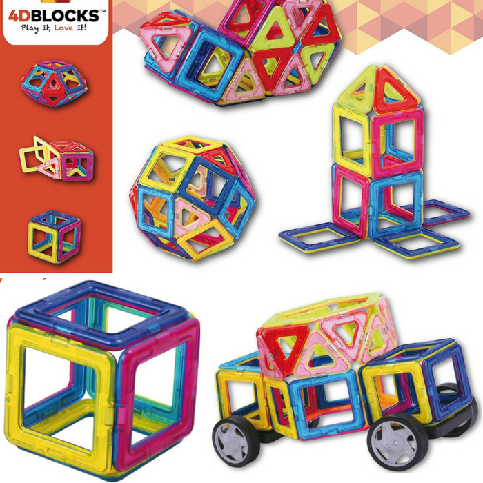 Prime Day Sale! Get 15% Off On 4D Blocks Magnetic Building Sets!
