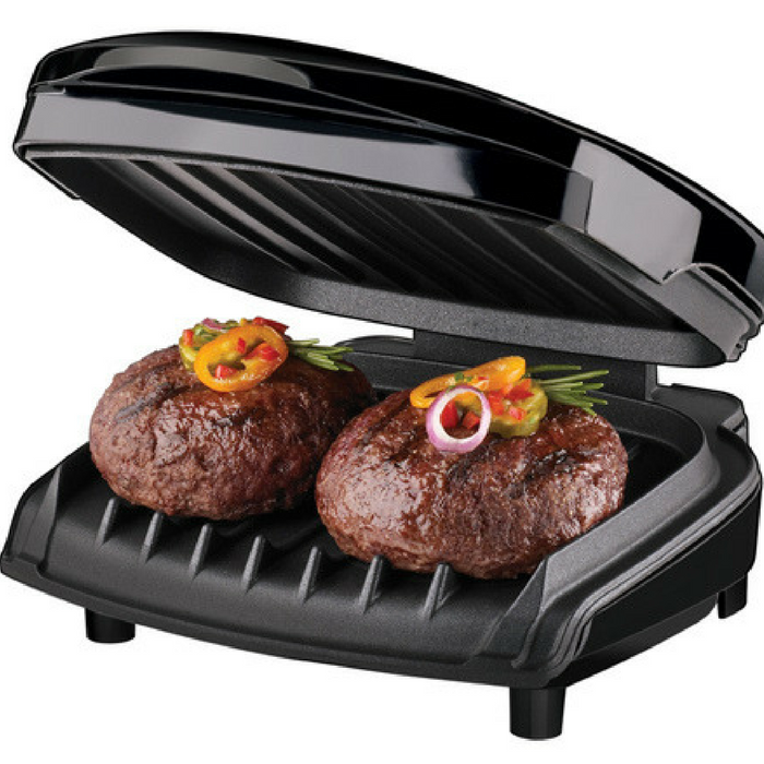 George Foreman 2-Serving Grill Just $8.99! Down From $19!