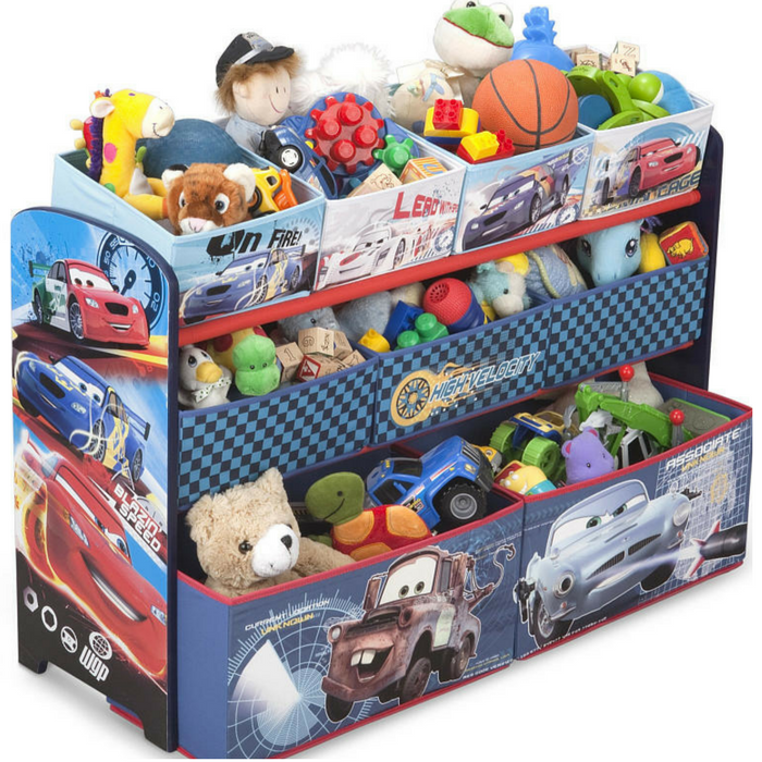 Cars 9-Bin Toy Organizer Just $20.99! Down From $35!