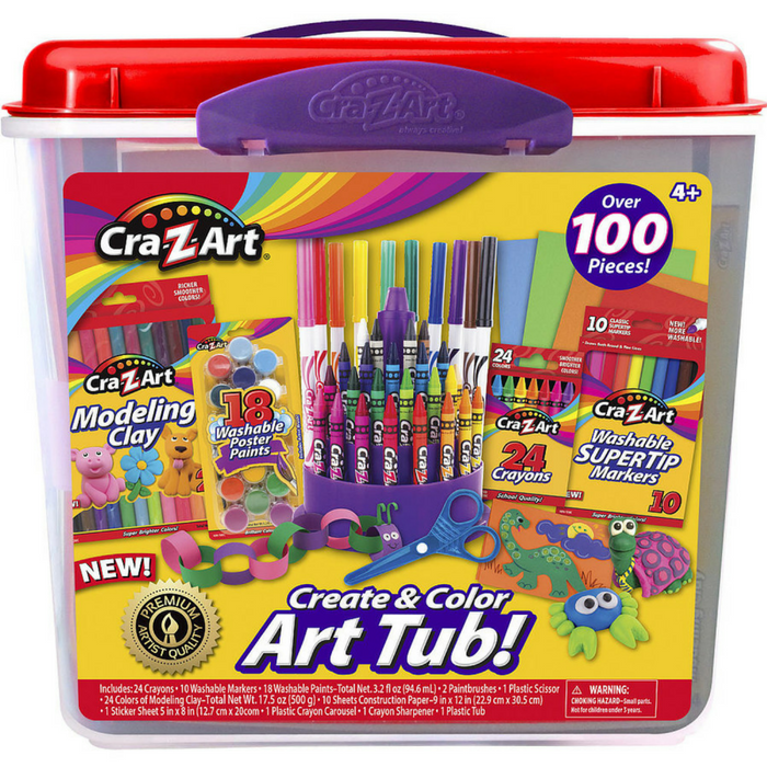 Cra-Z-Art Coloring & Creative Art Tubs Just $11.99! Down From $20!