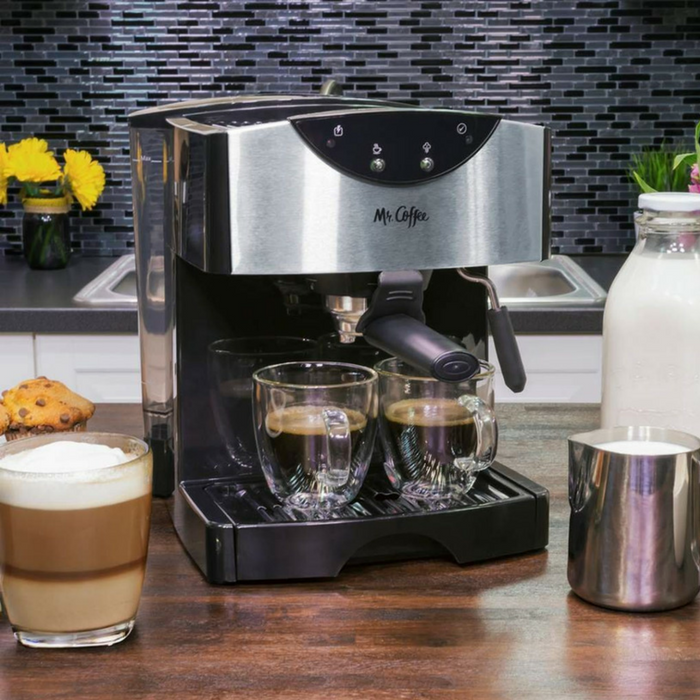 Mr. Coffee Dual Shot Espresso & Cappuccino System Just $56.99! Down From $100! PLUS FREE Shipping!