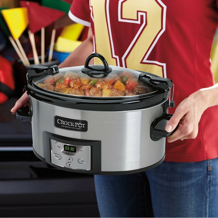 Crock-Pot Cook & Carry Slow Cooker Just $31.79! Down From $60! PLUS FREE Shipping! TODAY ONLY!
