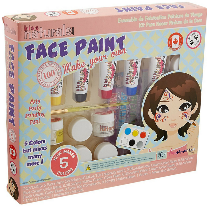 Kiss Naturals DIY Face Paint Making Kit Just $9.95! Down From $20!