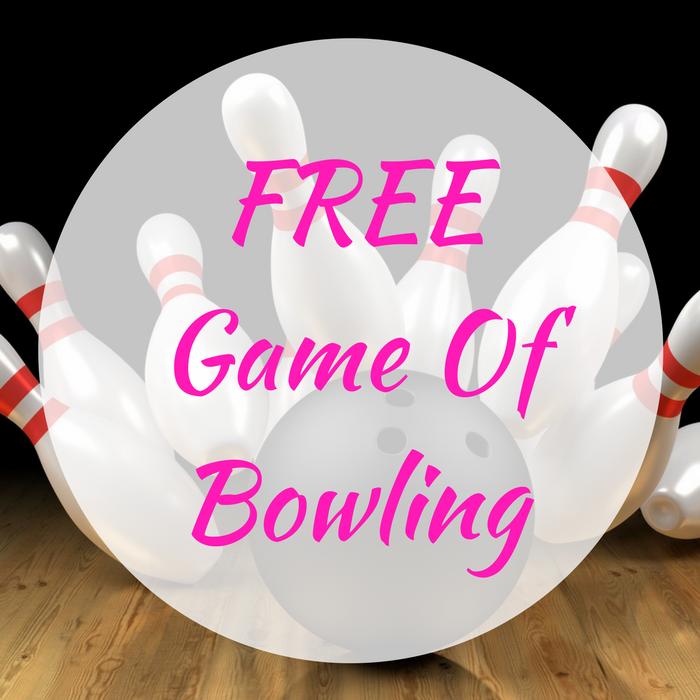 FREE Game Of Bowling!