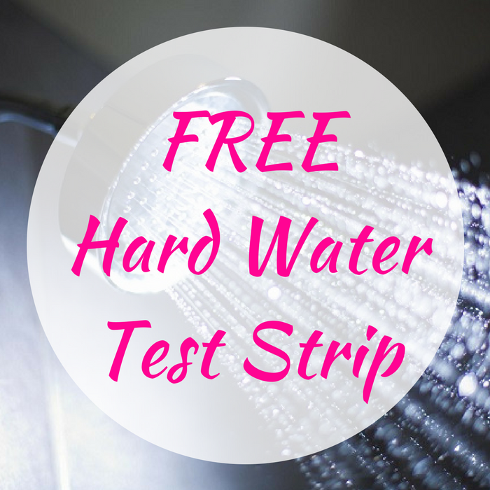 FREE Hard Water Test Strip!