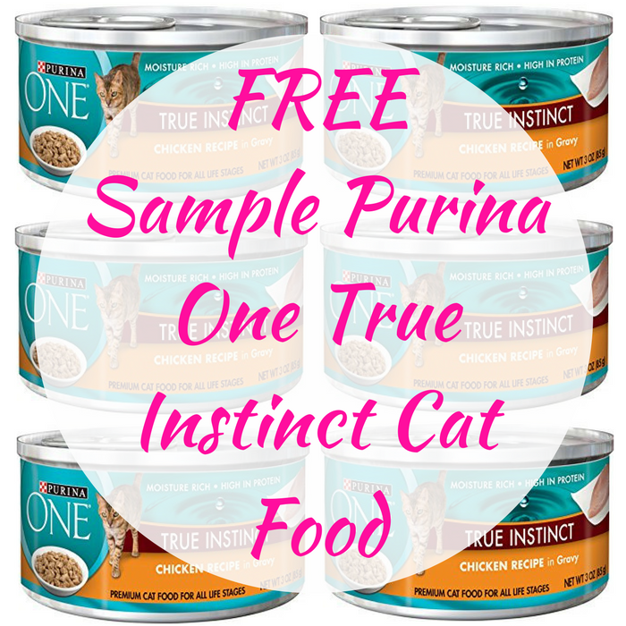 FREE Sample Purina One True Instinct Cat Food!