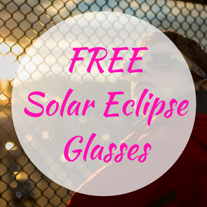 FREE Solar Eclipse Glasses!