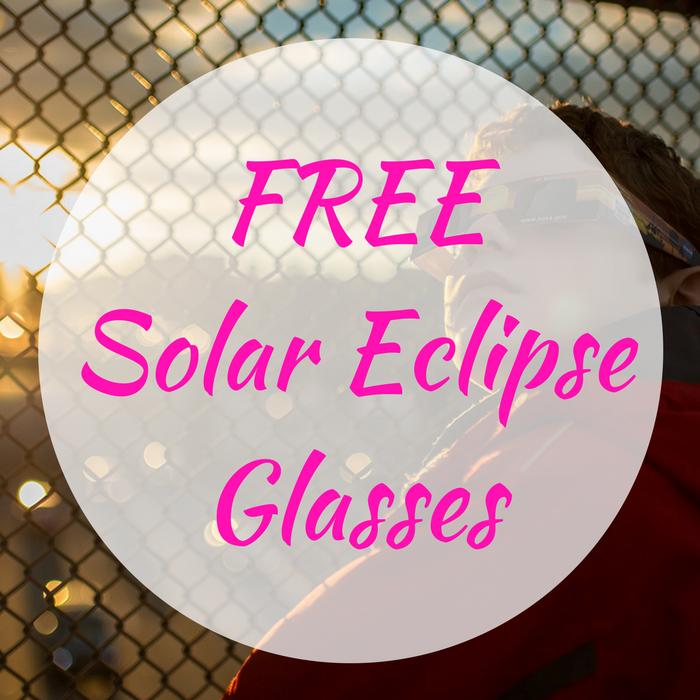 FREE Solar Eclipse Glasses!