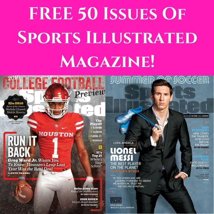 FREE Sports Illustrated Magazine Subscription!