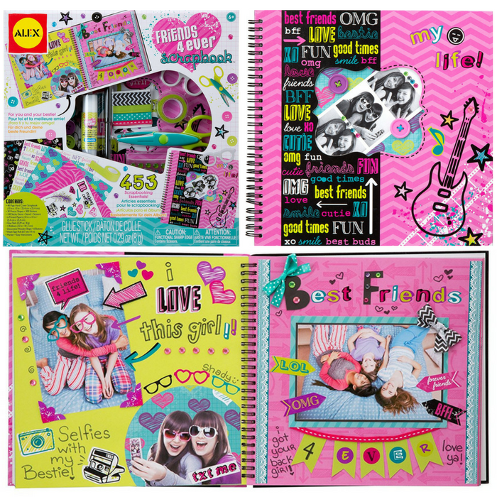 ALEX Toys Craft Friends 4 Ever Scrapbook Just $8.75! Down From $22.50!