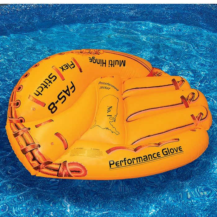 Swimline Baseball Glove Float Inflatable Raft Just $13.72! Down From $26!