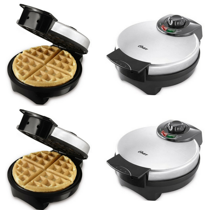 Oster Stainless Steel Belgian Waffle Maker Just $14.98! Down From $24!