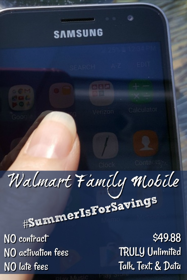 TheWalmart Family Mobile plan is so flexible and so cost effective it's just the perfect plan! There is NO contract, NO activation fees, NOlate fees, it's super easy to switch and start, AND it's Powered by T-Mobile's nationwide 4G LTE network!