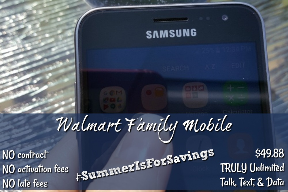 Walmart Family Mobile Summer Is For Savings!