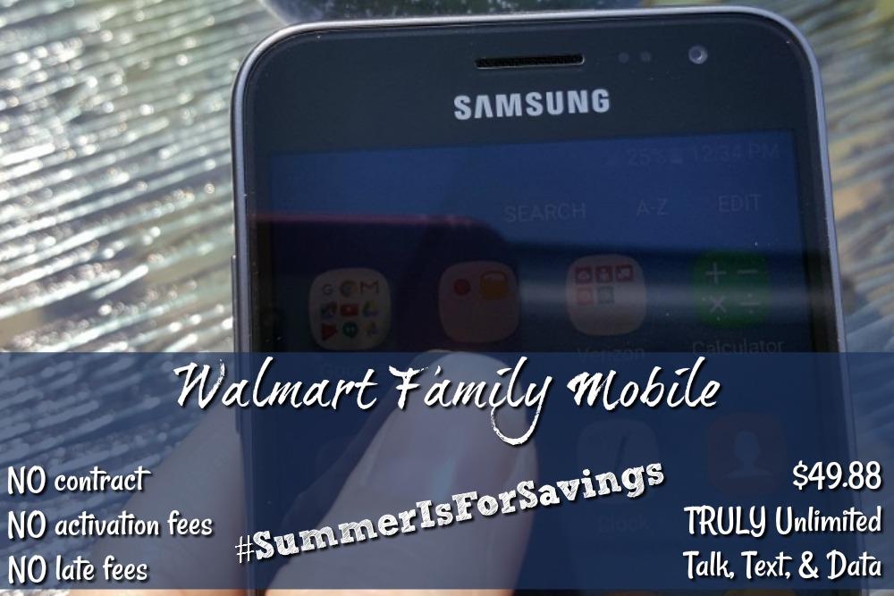 Walmart Family Mobile Summer Is For Savings!