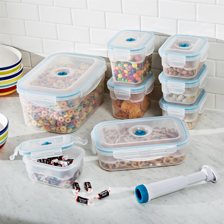 Vac 'N Save Container 17-Piece Set Just $29.99! Down From $50! PLUS FREE Shipping!