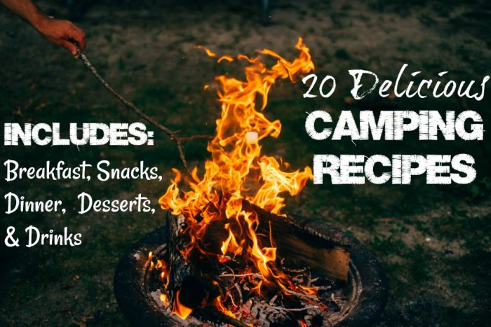 Best Camping Recipes And Camping Snacks!