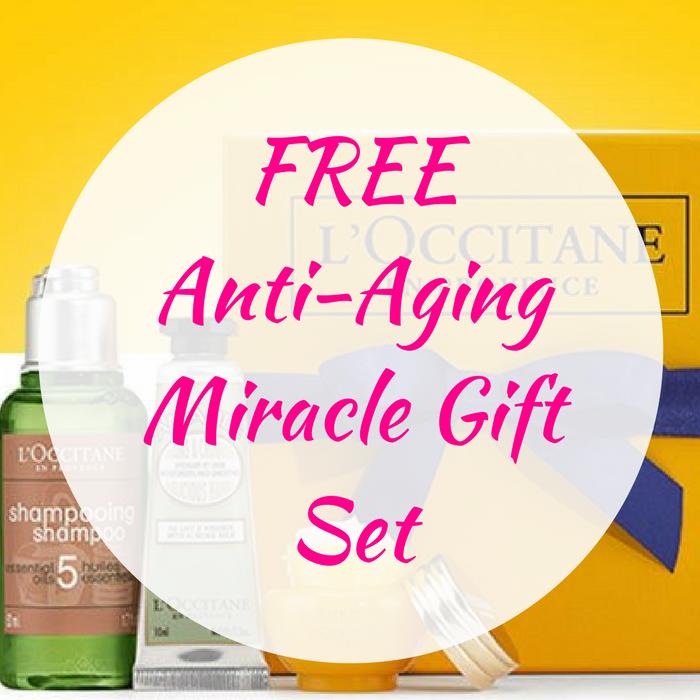 FREE Anti-Aging Miracle Gift Set!