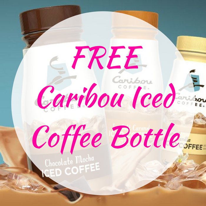 FREE Caribou Iced Coffee Bottle!