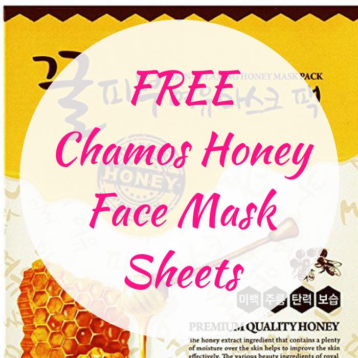 FREE Chamos Honey Face Mask Sheets!