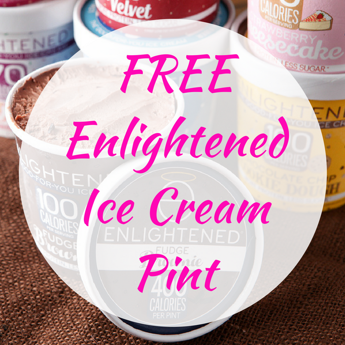 FREE Enlightened Ice Cream Pint!